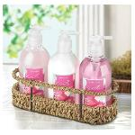 #10015299 Sweet Pea Bath Trio