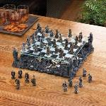 #15190 BLACK DRAGON CHESS SET $199.95