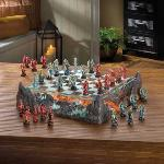 #15191 COLOR DRAGON CHESS SET $199.95